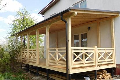 Строительство деревянных пристроек