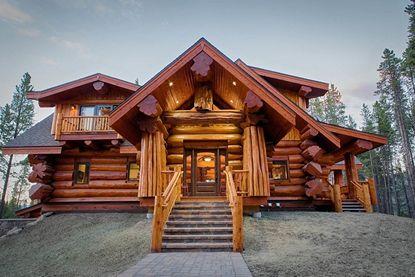 Дома из дерева в Краснодаре