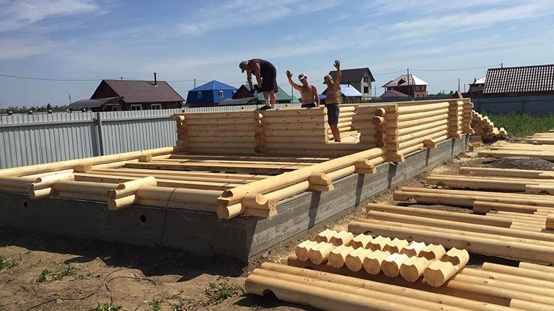 Строительство дома из бруса в Краснодаре